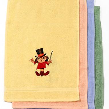 Dětské froté ručníky a osušky s výšivkou © ZS