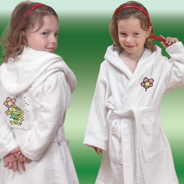 Dětské froté župánky s výšivkou © ZS